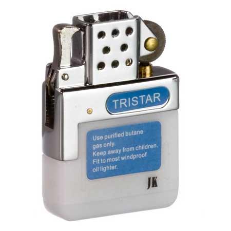 Sturmfeuerzeug Gaseinsatz Tristar