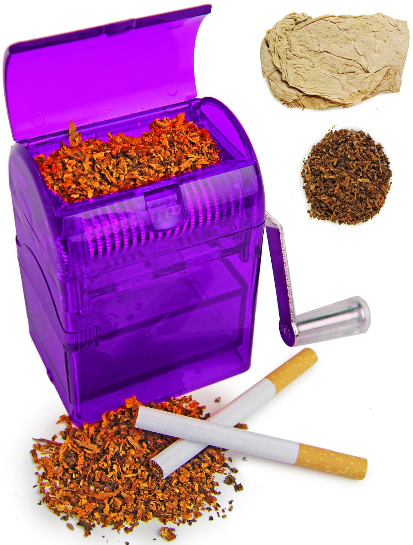 Tabakschredder für Tabakblätter Lila
