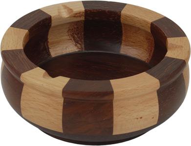Schweden Design Holz Aschenbecher