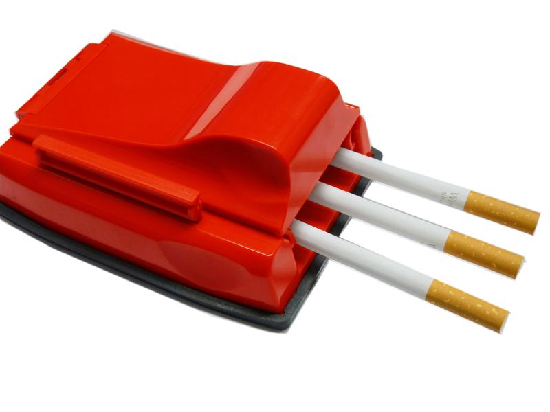Praktische Stopfmaschine für 3 Zigaretten