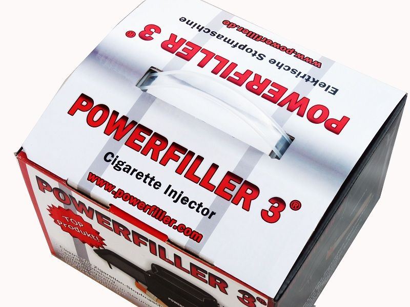 Powerfiller 3 elektrische Stopfmaschine Schwarz