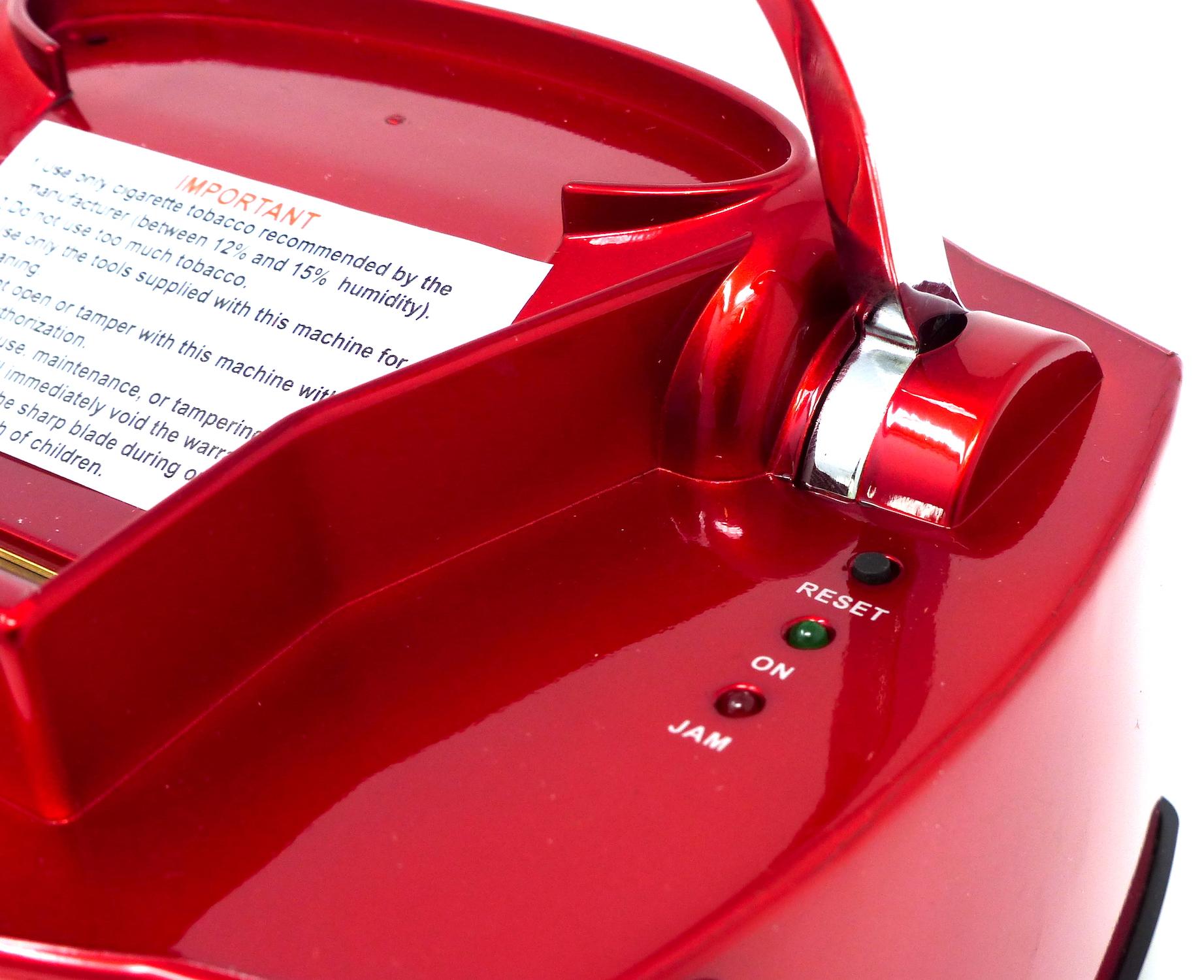 Elektrische Stopfmaschine Powerfiller 3S rot