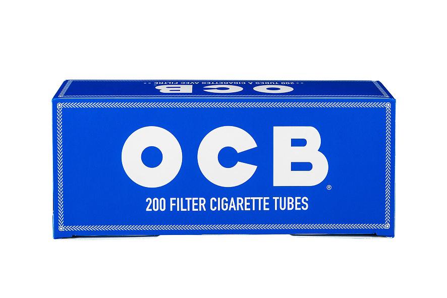 OCB-Zigarettenhülsen mit neutralem Geschmack