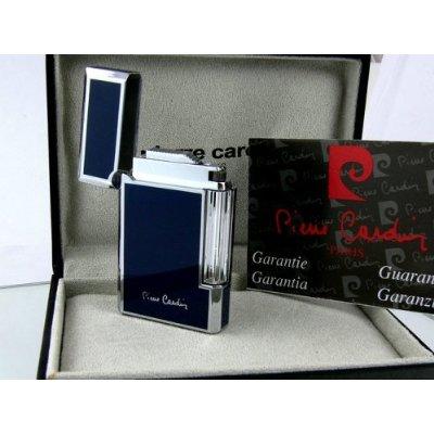 Klassisches Blaues Pierre Cardin Luxus Feuerzeug