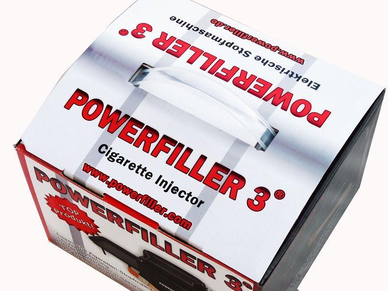 Powerfiller 3 elektrische Stopfmaschine Silber