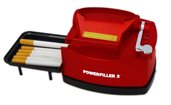 Powerfiller 3-S Rot elektrische Stopfmaschine