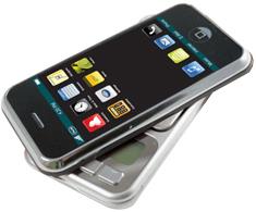 1,6 Zoll LCD  Präzisionswaage in Handlichen Format
