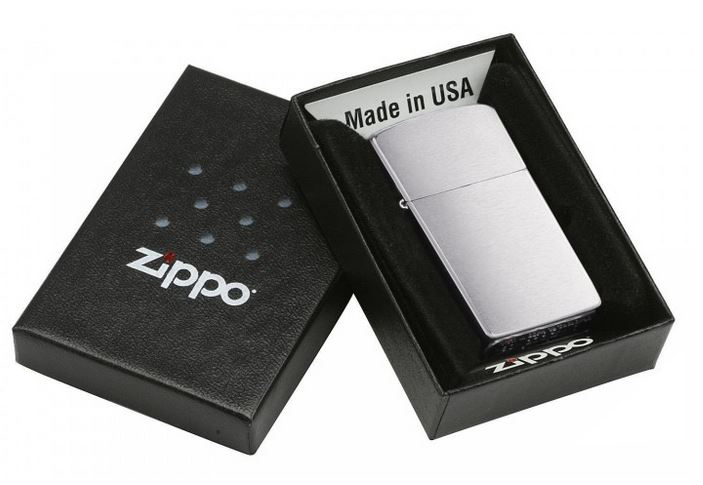 Original Zippo Feuerzeug Chrom Poliert